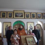 Святое Крещение малышей: Вячеслава и Софии в доме милосердия «Виктория»
